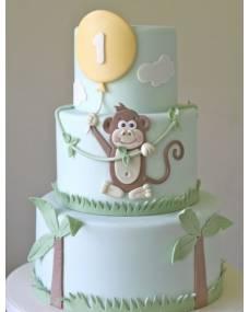 Детский торт Обезьянка