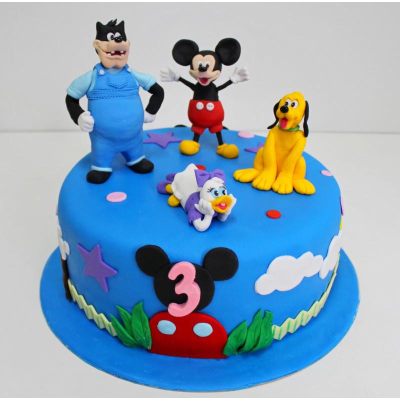Детский торт должен быть украшен так, чтобы обязательно понравился ...   800x800