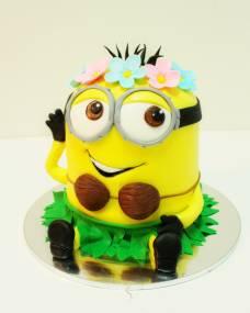 Детский торт Миньон-Гавайи