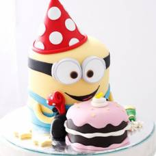 Детский торт Веселый миньон