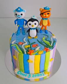 Детский торт Октонавты