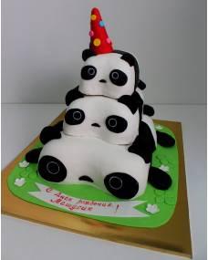 Детский торт Пандочки