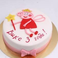Детский торт Пеппа волшебница
