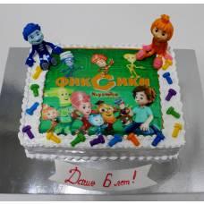 Детский торт Фототорт Фиксики 1