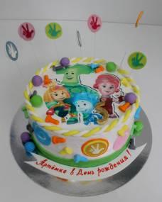 Детский торт Фототорт Фиксики 2