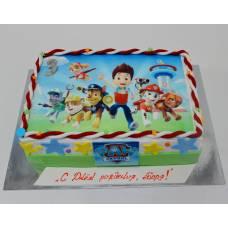 Детский торт Фототорт Щенячий Пат