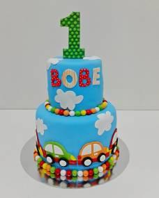 Детский торт Веселая единичка