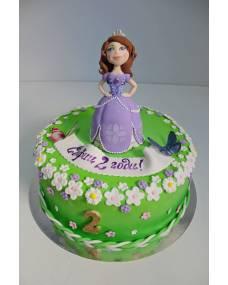 Детский торт Принцесса София