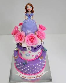 Детский торт Принцесса София 2