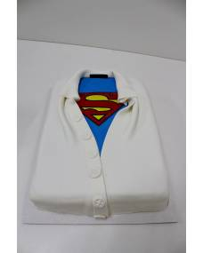 Детский торт Рубашка Супермен