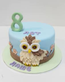 Детский торт Совушка