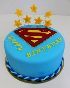 Детский торт Супермен