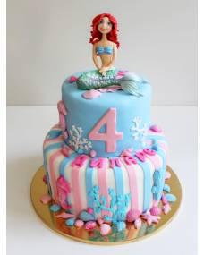 Детский торт Милая Русалочка