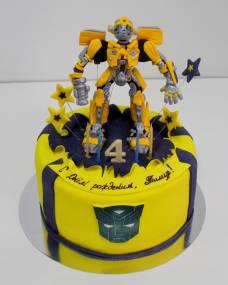 Детский торт Трансформер