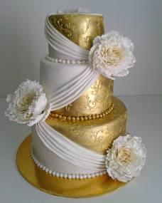 Свадебный торт Элеганс