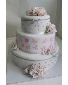 Свадебный торт Нежный