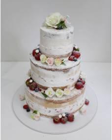 Свадебный торт Ягодный