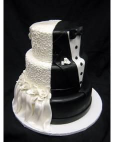 Свадебный торт Торт Стильный