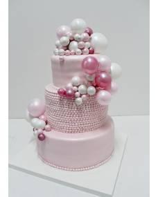 Свадебный торт Карамельные шары 1