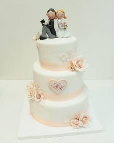 Свадебный торт Милашки 1