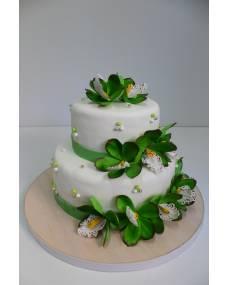 Свадебный торт Орхидея цимбидиум