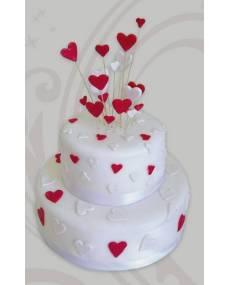 Свадебный торт Миленький