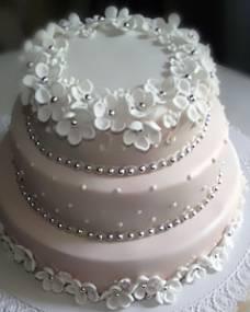 Свадебный торт Нежный венок