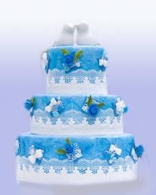 Свадебный торт Вечная любовь