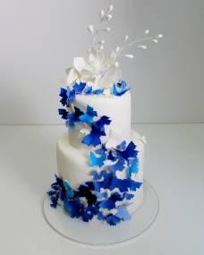 Свадебный торт Полет бабочек