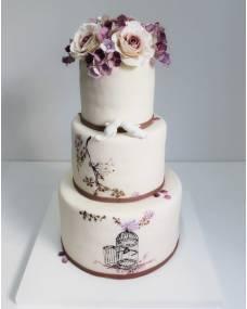 Свадебный торт Счастье навсегда