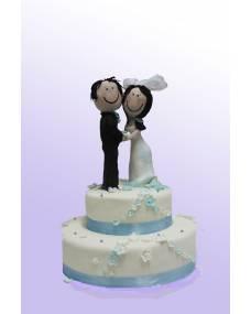 Свадебный торт Счастливая пара