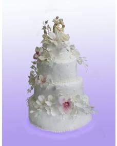 Свадебный торт Ночная орхидея