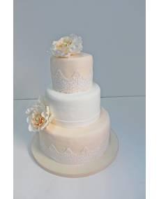 Свадебный торт Люблю тебя