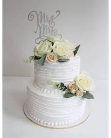 Свадебный торт Мистер и Миссис