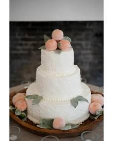 Свадебный торт Персик