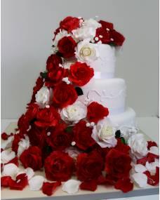 Свадебный торт Розовые сны