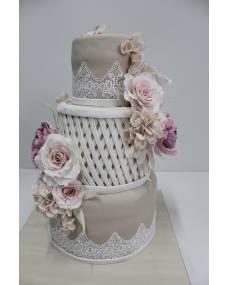 Свадебный торт Сплетение чувств