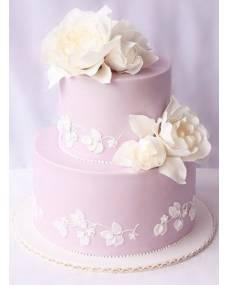 Свадебный торт Лиловый закат