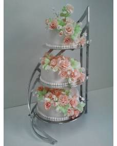 Свадебный торт Романтика