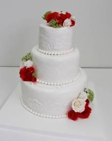 Свадебный торт Романтичный