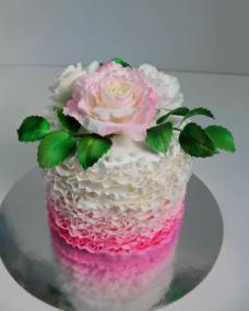 Свадебный торт Розовая мечта