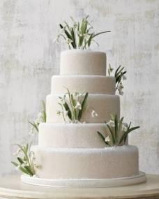 Свадебный торт Подснежники