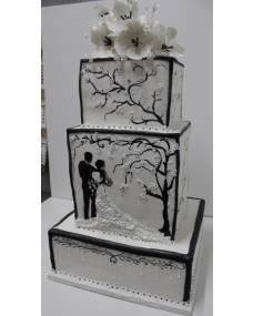 Свадебный торт Нежность навсегда