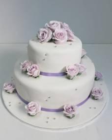 Свадебный торт Нежные слова