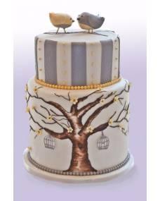 Свадебный торт Дерево счастья