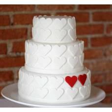 Свадебный торт Чувства