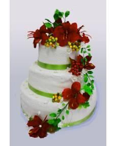 Свадебный торт Амариллис
