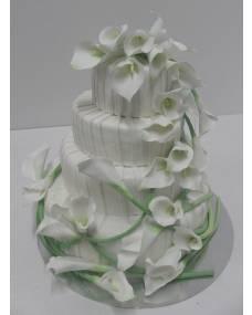 Свадебный торт Свадебные каллы
