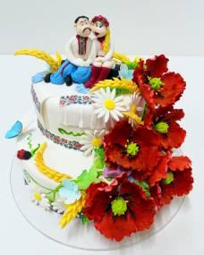 Свадебный торт Свадебный украинский